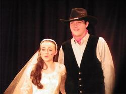 Matt and Heather Olson in Oklahoma!