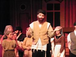 Matt McComb in Fiddler as Tevye