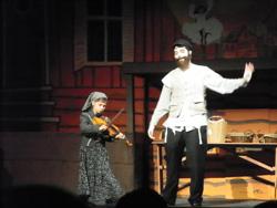 Matt McComb as Tevye in Fiddler on the Roof
