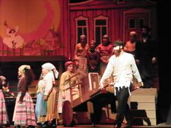 Matt as Tevye leaving Anatevka